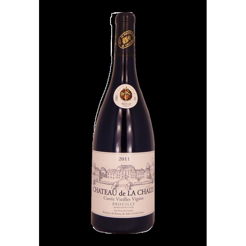 Brouilly Cuvée Vieille Vigne Château De La Chaize.