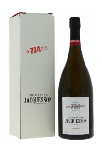 Champagne Jacquesson n° 734 à Dégorgement Tardif