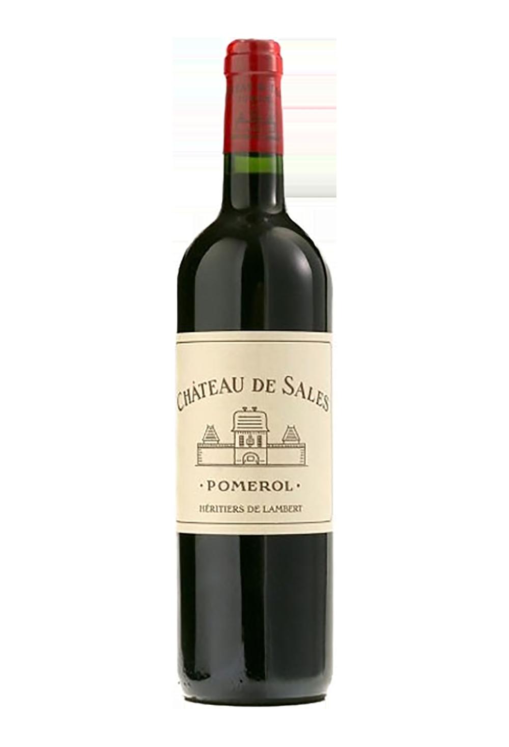 Vin De Bordeaux Pomerol Rouge Mill 233 Sime 2015 Du Ch 226 Teau De Sales