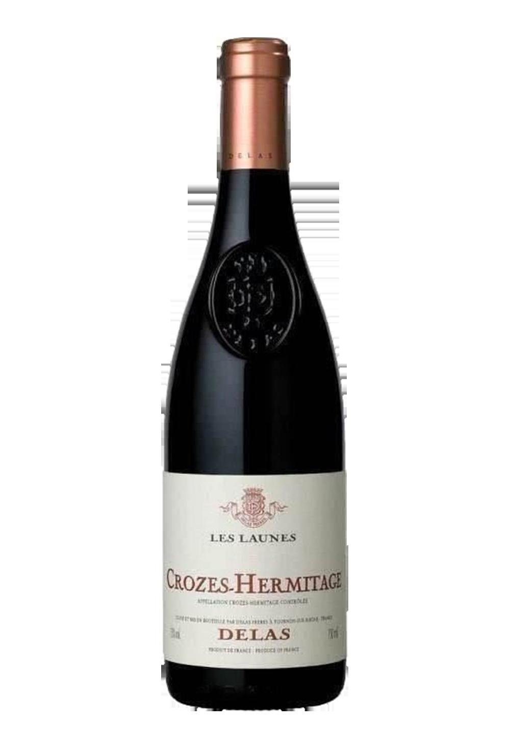 Vin Du Rhone Crozes Hermitages Les Launes Rouge Mill 233 Sime 2017 De La Maison Delas