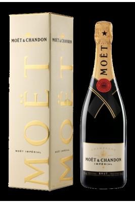 Champagne Brut Impérial en coffret