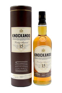 Whisky Richly Matured 15 ans
